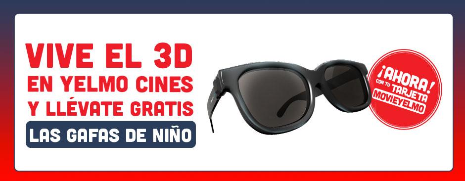 Vive el 3D en Yelmo Cines